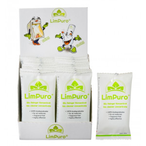 LimPuro Bong Pipe Bio Cleaner Concentrate Sachet 20ml x 2