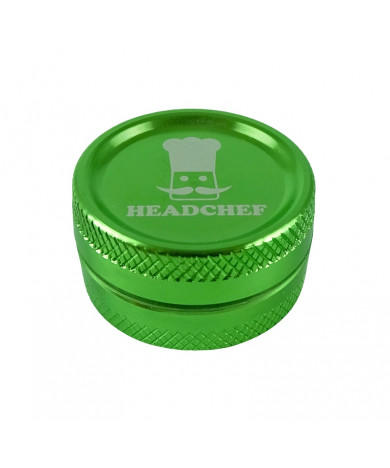 Headchef Classic Herb Grinder 30mm 2 Part Green