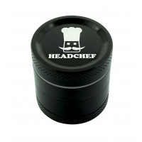 Headchef Classic Herb Grinder 30mm 4 Part Black