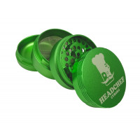 Headchef Cyborg  Herb Grinder 62mm 4 Part Gamma Green