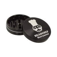 Headchef Heavy Metal Herb Grinder 55mm 2 Part Black Sabbath