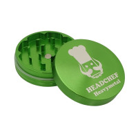Headchef Heavy Metal Herb Grinder 55mm 2 Part Soilent Green