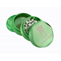 Headchef Hexellence Herb Grinder 55mm 4 Part Green