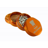 Headchef Hexellence Herb Grinder 55mm 4 Part Orange