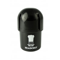 Headchef POD Herb Grinder 40mm 3 Part Black