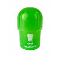 Headchef POD Herb Grinder 40mm 3 Part Green