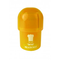 Headchef POD Herb Grinder 40mm 3 Part Orange