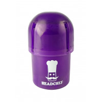 Headchef POD Herb Grinder 40mm 3 Part Purple