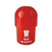 Headchef POD Herb Grinder 40mm 3 Part Red