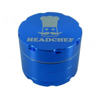 Headchef Razor Herb Grinder 40mm 4 Part Blue