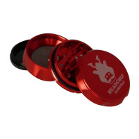 Headchef Samurai Herb Grinder 55mm 4 Part Red
