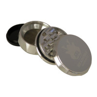 Headchef Samurai Herb Grinder 55mm 4 Part Silver