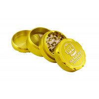 Headchef Spaceman Herb Grinder 55mm 4 Part Plasma Yellow