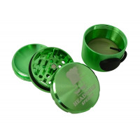 Headchef Speedy Herb Grinder 50mm 4 Part Green