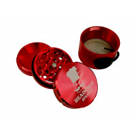 Headchef Speedy Herb Grinder 50mm 4 Part Red